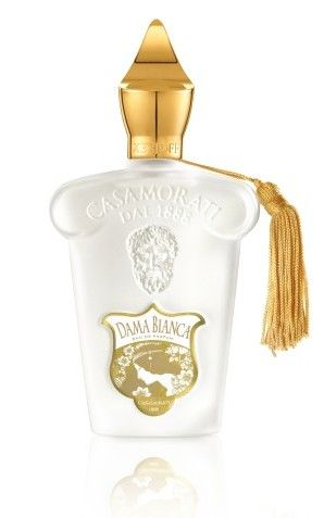 DAMA BIANCA  by Xerjoff Casamorati 1888.   Olfactory group: floral-woody .  #Xerjoff #Casamorati #perfumy