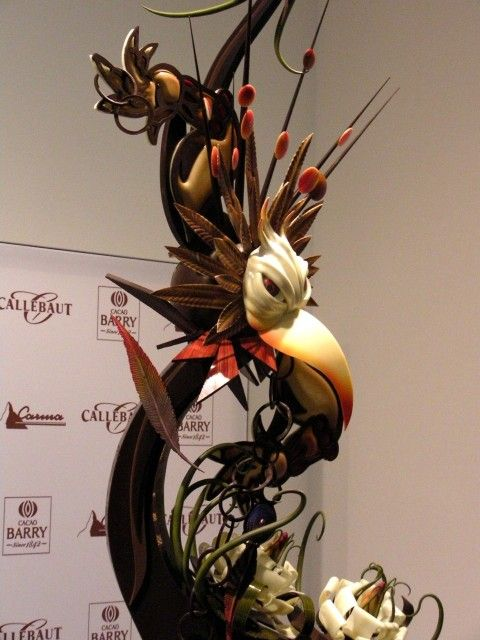 World Chocolate Masters' Art. Great blog article by chocablog