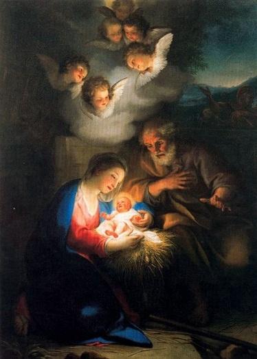 Anton Raphael Mengs (1728-1779): Nacimiento de Jesús ...