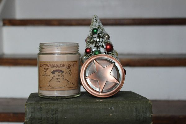 Snowman Delight (Sugar Cookie) 8oz Soy Blend Candle