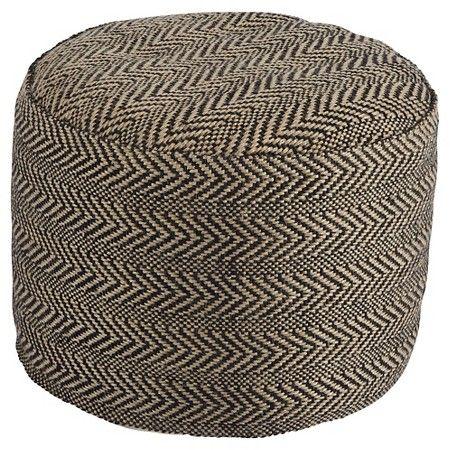 Chevron Pouf - Ashley Furniture : Target