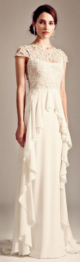 Temperley London Bridal Fall 2014-2015 ~ Bluebell