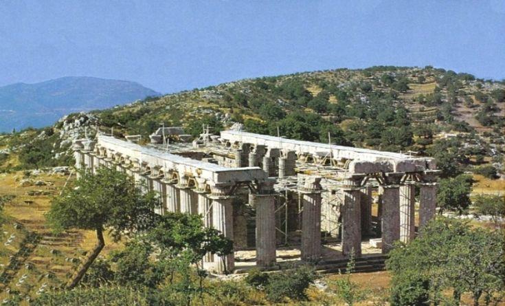 iplus - Μοναδικό φαινόμενο στην Ελλάδα. Ο Ναός του Επικούριου Απόλλωνα που... περιστρέφεται (βίντεο)