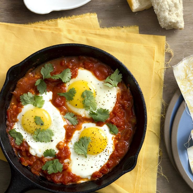シャクシュカ ‐ フライパン1つで出来る何時もと違うイスラエルの朝食は如何ですか。
