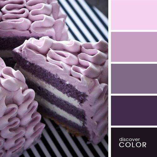 Лавандовый торт | DiscoverColor.ru (Lavender Cake)