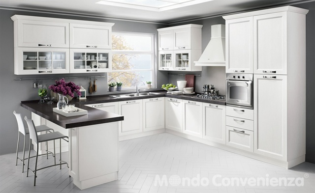 Louisiana cucine moderno mondo convenienza for the for Struttura cabina armadio mondo convenienza