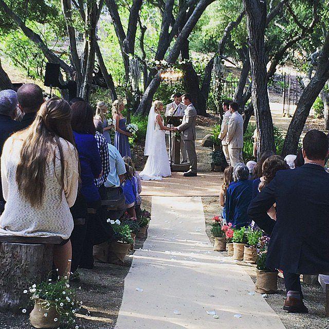 "Celebrity Wedding: Heather Morris from ""Glee"""