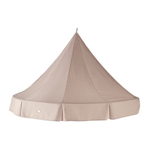 CHARMTROLL Bed canopy IKEA A bed canopy gives privacy and creates a room-in-room feeling.