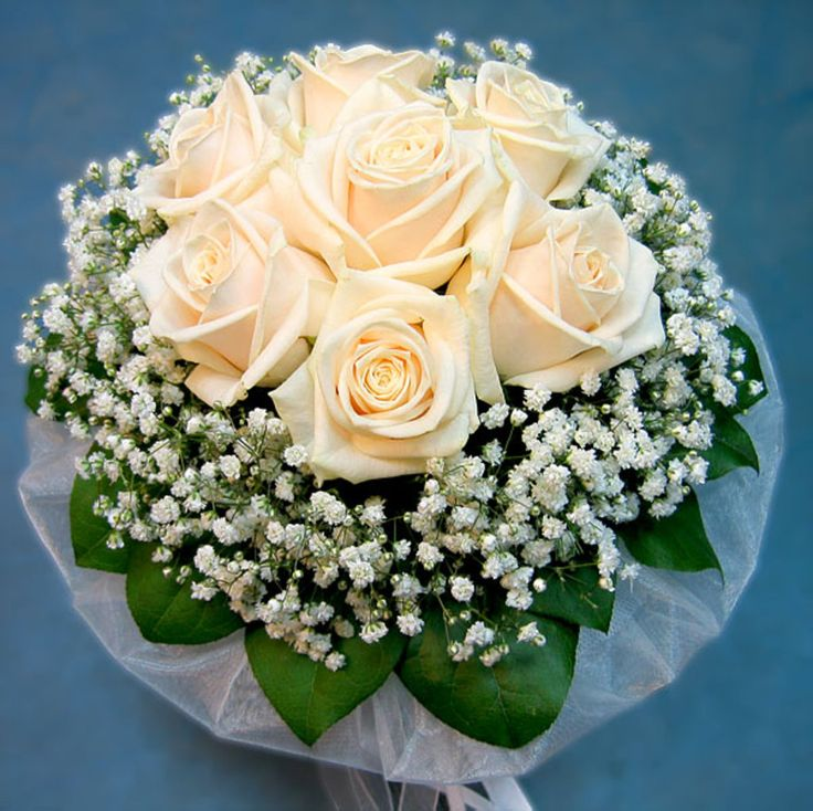 Свадебный букет из роз своими руками пошагово фото