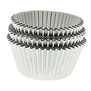 Silver Foil Cupcake Cases: Amazon.co.uk: Kitchen & Home