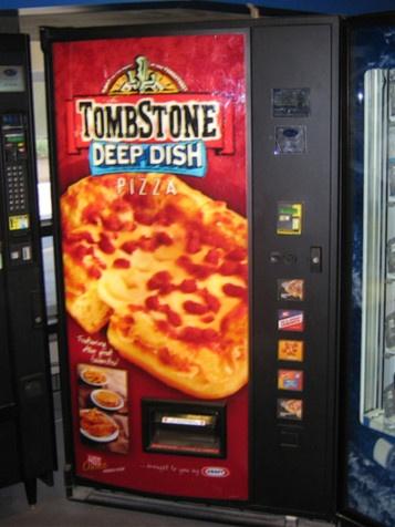 Pizza Vending Machine (in my home)