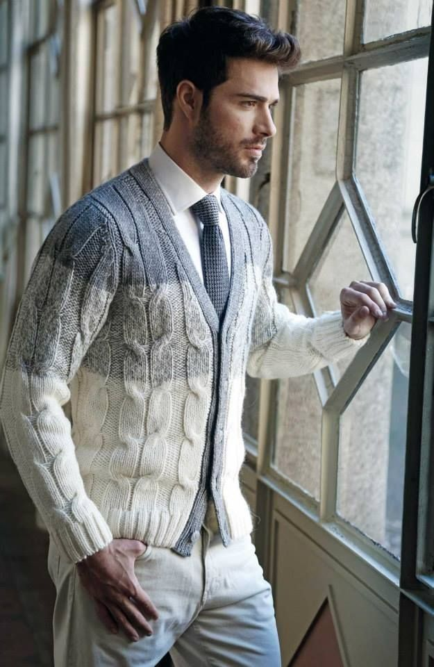 File under: Knits, Cardigans, Layers, Ties