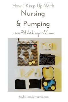 A sample schedule of a working mom who pumps at work in order to maintain a breastfeeding relationship with her baby.
