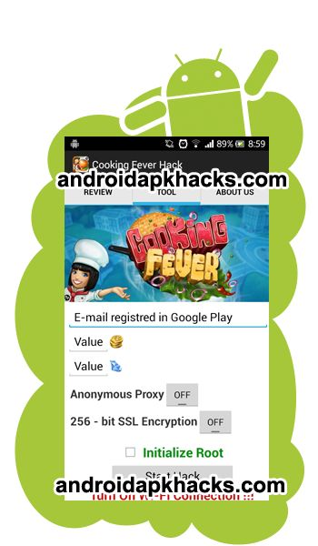 Cooking Fever Hack Android Apk Mod