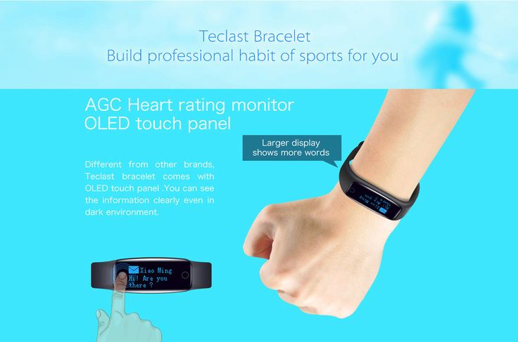 Teclast H10 Smart Wristband, Special Offer from Gearbest  @  $13.55   http://www.mobilescoupons.com/gadgetsaccessories/teclast-h10-smart-wristband-special-offer-from-gearbest