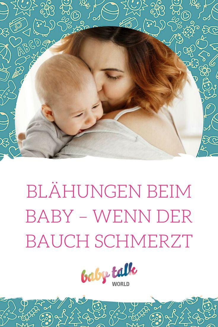 BLÄHUNGEN BEIM BABY – WENN DER BAUCH SCHMERZT. Was du tun kannst, um deinem Baby bei Blähungen zu helfen