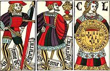 Tres cartas españolas antiguas, circa 1500