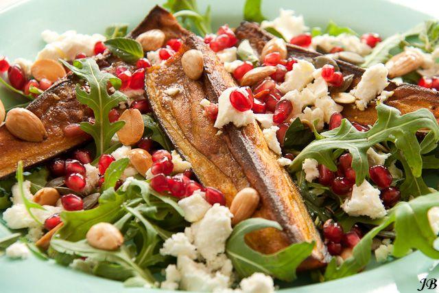 Carolines blog: Geroosterde aubergines op basis van de voedselzandloper