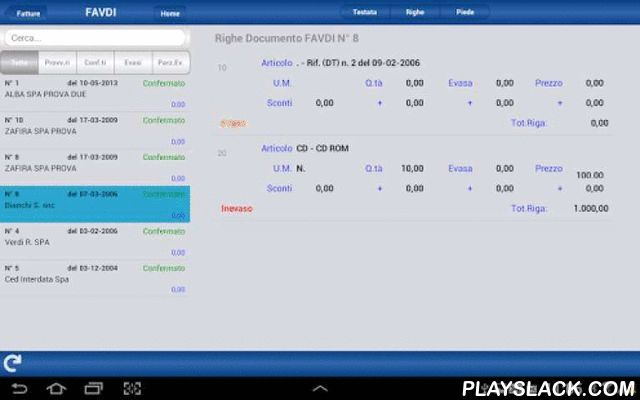 MoBI Doc Per Android  Android App - playslack.com , IL GESTIONALE DIVENTA CLOUDRaccolta ordini, tentata vendita, offerte, consultazione anagrafiche e ciclo documentale in formato Tablet.MoBI Doc, la tua azienda nel palmo di una mano!Grazie ad un plug-in lato server, l'applicazione si connette in tempo reale ai dati del vostro gestionale. Basterà avviare l'App nel device e in pochi secondi potrete consultare:- Clienti/Fornitori: dettaglio anagrafica, automatismi invio mail, geolocalizzazione…