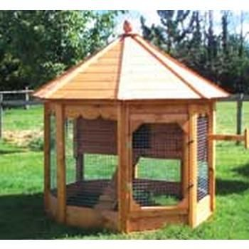95 best images about really neat hen house collection on for Gazebo chicken coop
