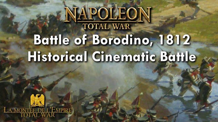 BATTLE OF BORODINO 1812 | NAPOLEON TOTAL WAR CINEMATIC BATTLE