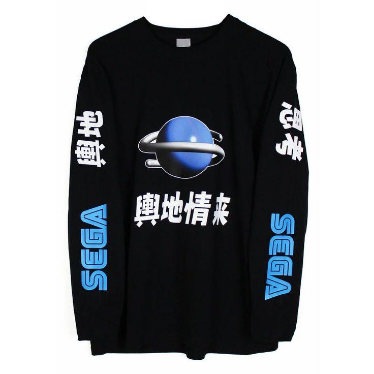 By agoraclothing: Saturn #longsleeve #longsleevetshirt #segasaturn #retrogaming #nintendo #dreamcast #stussy #streetwear #vaporwave #retrogaming #microhobbit