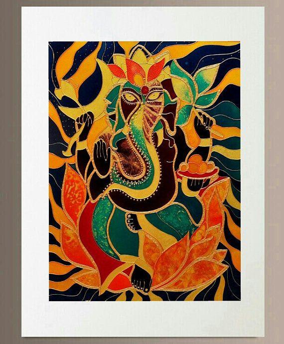 Kunst Druck - Ganesha 3