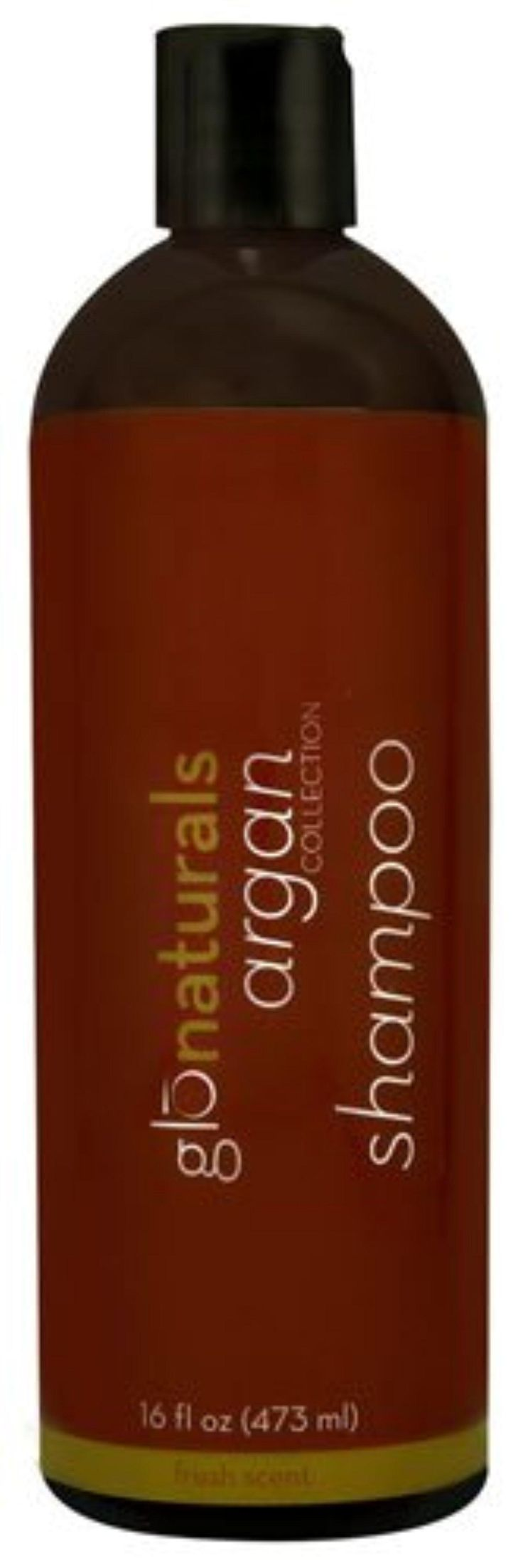 Glonaturals Argan Collection - Argan Shampoo - Non-GMO -- 16 fl oz (473 mL) - Brought to you by Avarsha.com