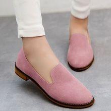Envío gratis Nubuck moda Mujer Zapatos de cuero Retro cómodo mujeres Flats Ladies Zapatos de Mujer tamaño 36-39(China (Mainland))