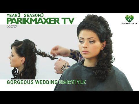 Эффектная прическа с объемом Creative hairstyle with volume парикмахер тв parikmaxer.tv - YouTube