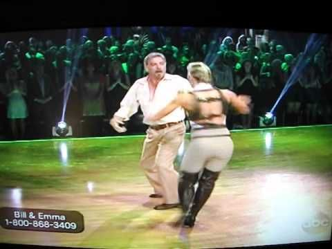 Bill Engvall Dances Freestyle on DWTS Indiana Jones Theme