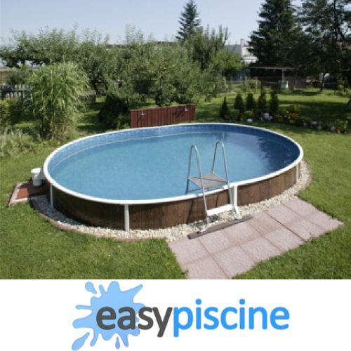 1000 id es sur le th me piscine ovale sur pinterest for Piscine hors sol semi enterree reglementation