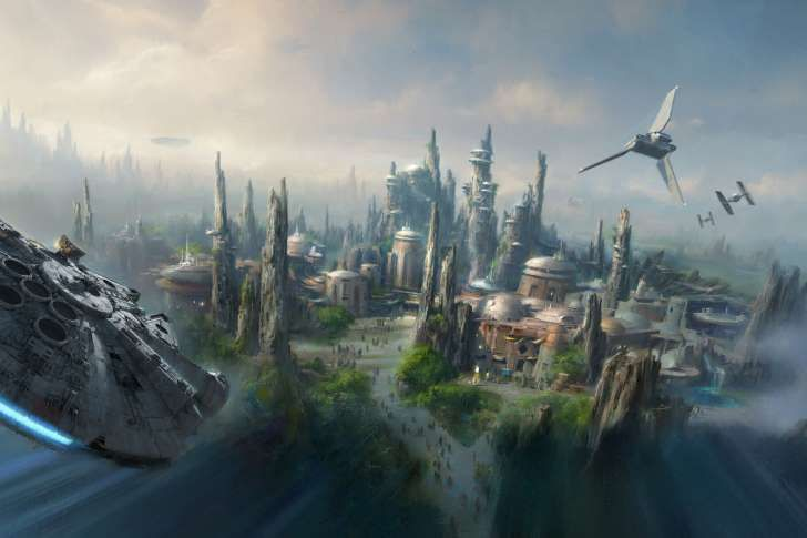 Theme Park Attractions to Look Forward to in 2016 - Star Wars Themed Land at Disneyland Resort, Anaheim, CA