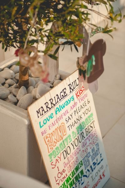 Marriage Rules! Details from real wedding in #Santorini see more at.... http://photographergreece.com/en/photography/wedding-stories/689-intimate-destination-wedding-in-santorini #wedding #details #decoration #decor