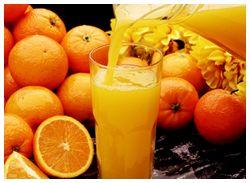 Depurativa dieta equilibrada para perder peso de la naranja