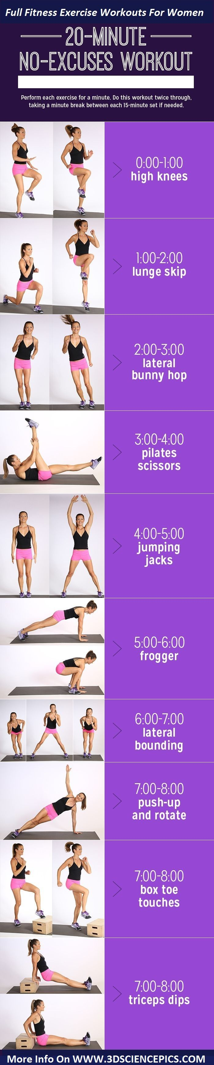 Fitness Workouts For Women Everyday Exercises