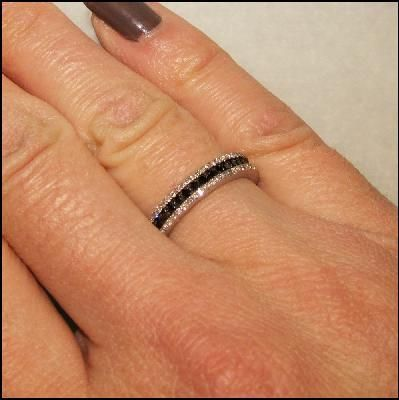 Black diamond rings... Love!!!