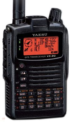 Handheld HAM radios! I have this one. Now I need to study to get my license!