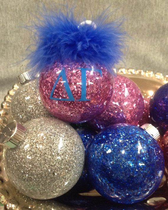 Delta Gamma  sorority Ornament by unameitpersonalized on Etsy