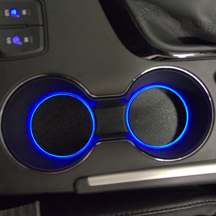 Custom LED Cup Holder Lights - FITS ANY CAR!! - LED Cup Holder Mod