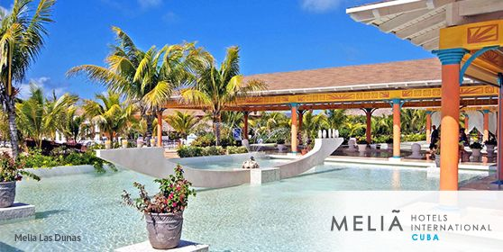 Meliá Las Dunas All-Inclusive resort in Cuba