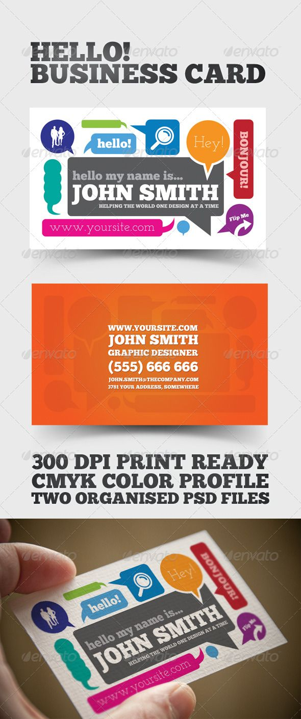 102 best Business cards images on Pinterest | Business card design ...