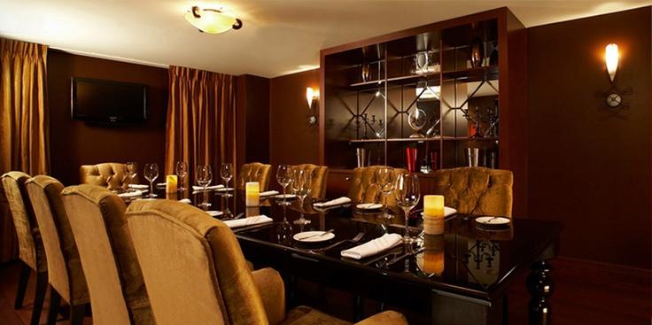 Salle privée dans le restaurant La Coupole / Private room in Restaurant La Coupole