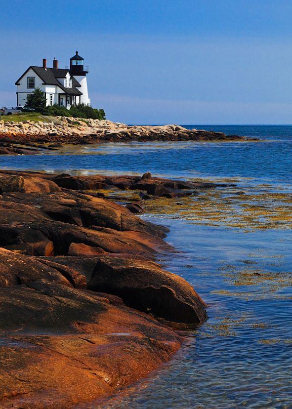 Prospect Harbor Lighthouse, Prospect Harbor Point, Schoodic Peninsula, Maine © Doug Hickok