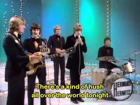 Herman's Hermits - There's A Kind Of Hush - (With subtitles in English) - YouTube