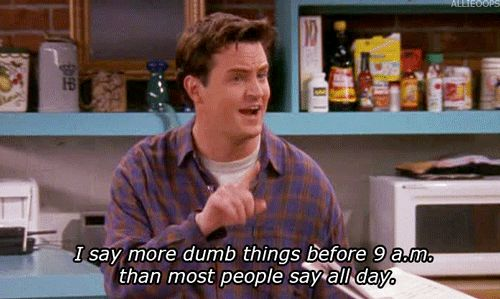 44 Reasons Why You're Chandler Bing | THE BEST