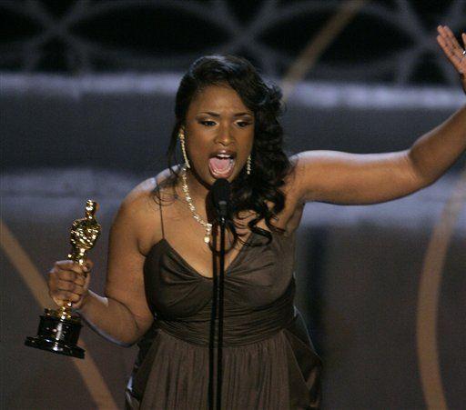 Jennifer Hudson, Academy Award winner, Best Supp. Actress 'Dreamgirls', 2006