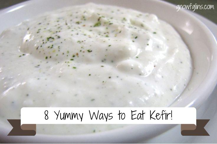 8 ways to eat kefir
