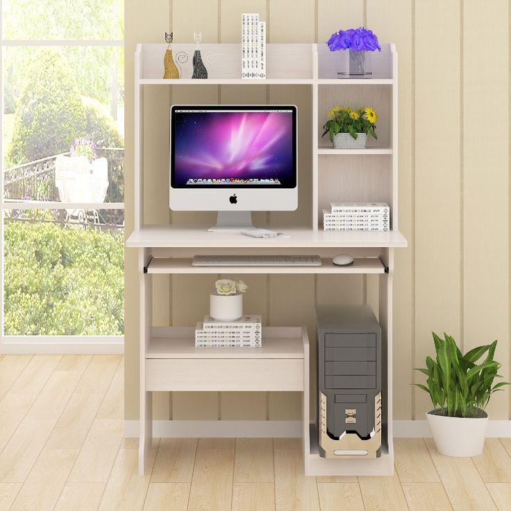 computer desktop furniture. modern bedroom small computer desktop table home pc desk study assembly with bookshelf furniture