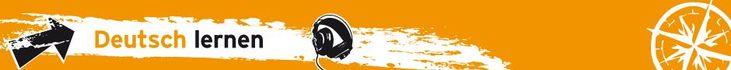 Brandingbanner Deutsch lernen (c) Auslandsmarketing 2012 - Deutsche Welle